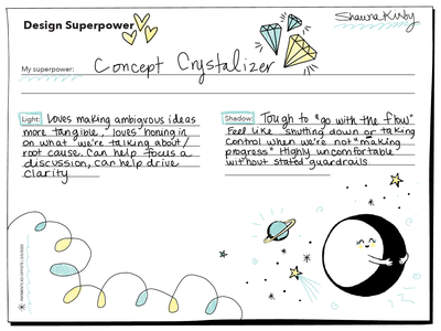 Design Superpowers ui visual design values ux offsite skillshare skills handlettering design illustration