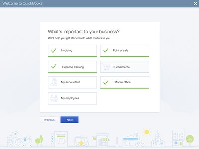 Onboarding first use onboarding