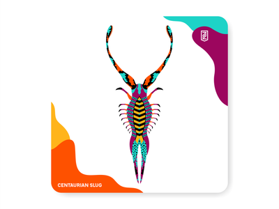 Fantastic insects 05 illustration ui zilap co typography vector branding la cultura del futuro zilap estudio logo designs