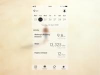 Health App screen redesign