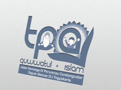 TPQ Quwwatul Islam Logo flat minimal typography branding logodesign vector portfolio illustration logo design