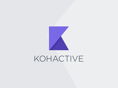 New Kohactive Logo branding logo
