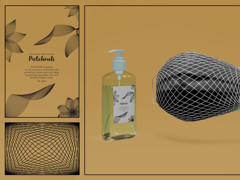 Covid-19 Kit illustration graphic design