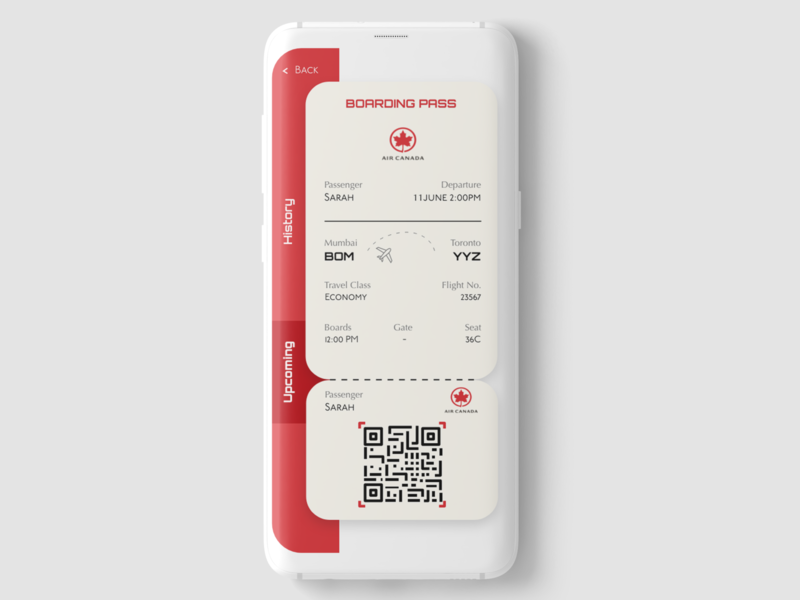 Daily UI 024 : Boarding Pass mobile app typogaphy website web mobile flight daily ui challenge creative behance branding application designer illustration ux ui design app design boardingpass boarding pass app