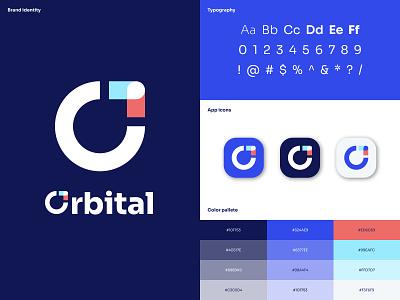 Style Guide - Orbital logo design logodesign style guide styleguide brand identity brand design branding brand ui logo illustration webdesign web design product design ux design uxdesign ux design