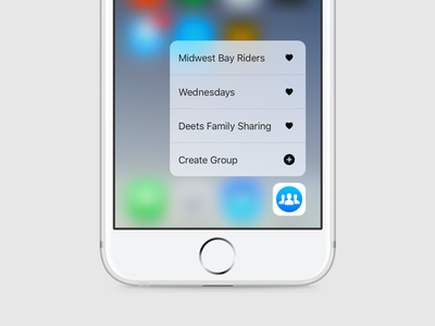 3D Touch 3d touch ios groups facebook