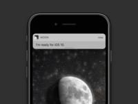 MOON for iOS 10