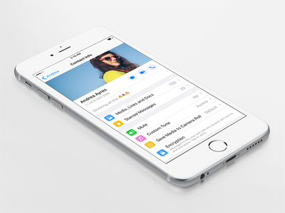 WhatsApp Contact Info iOS ios whatsapp