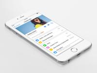 WhatsApp Contact Info iOS