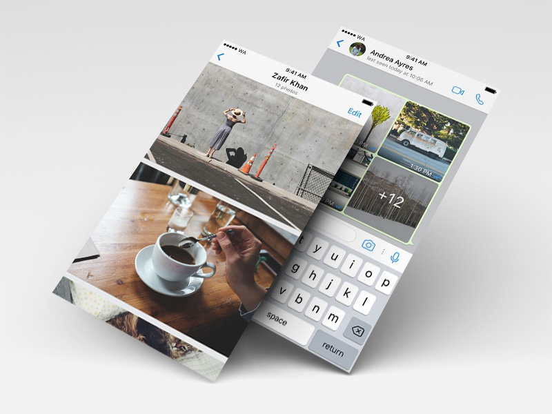 album view dribbble