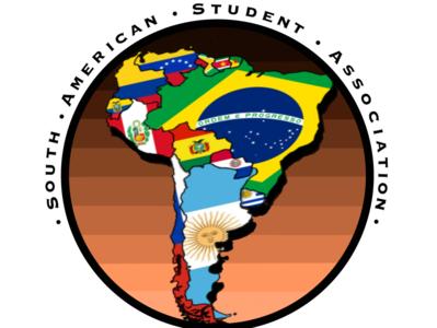 S.A.S.A Logo studentorganization logo southamerica ualbany digital art illustration graphic design