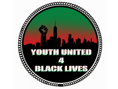 Youth United 4 Black Lives Logo blacklivesmatter organization logo digital art illustration graphic design