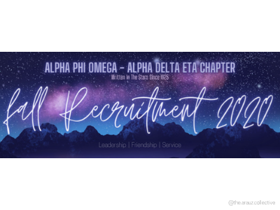APO ADH Fall Recruitment 2020 stars sky night night sky ualbany digital art illustration graphic design