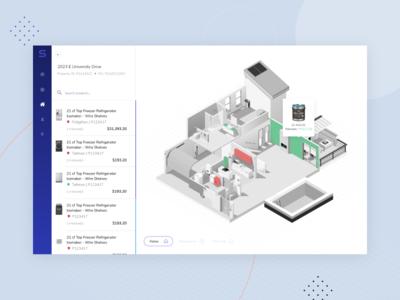Interactive Isometric Home