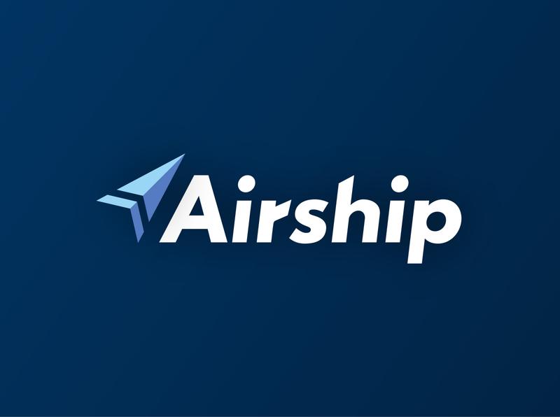 Airship - Delivery Service delivery logo delivery illustration logodlc logodesign logo dailylogochallenge