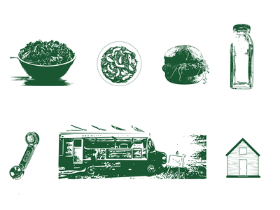 Rustic Icon Design icon set icons photoshop photo illustration
