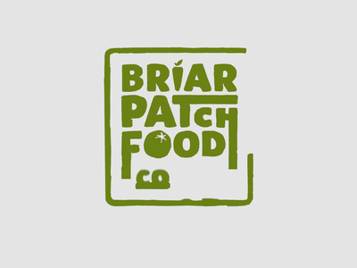 BriarPatch Food Co-op Logo Animations 2d animation animation 2d logo after effects mograph motion graphics animated gif gif animated branding