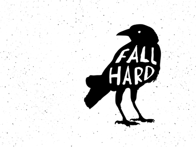Fall Hard Logo