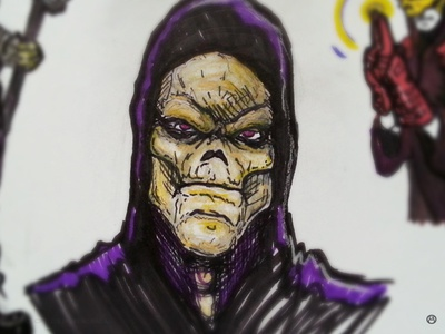 Skeletor Concepts (Closeup)