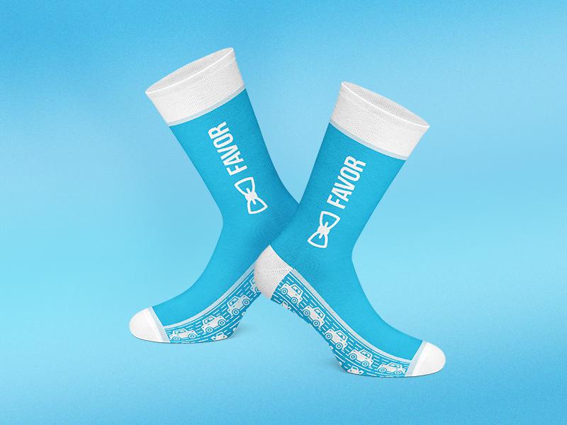 """""""Keep Running"""" Socks swag run apparel pattern socks illustration"""