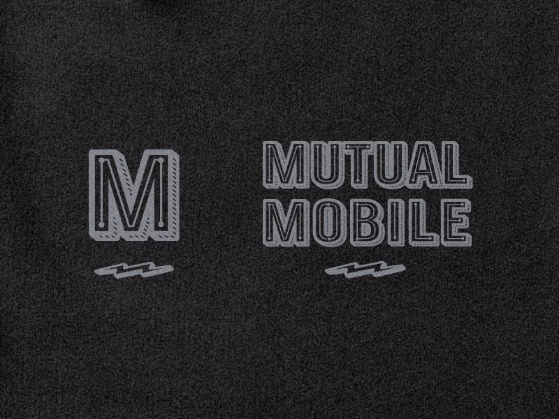 Mutual Mobile Hoodie monogram tech apparel hoodie illustration type