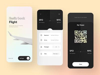 Flight ticket app uiuxdesigner uiux design uiuxdesign appdesigner flight app flight uidesigns uxdesign ux ui  ux appdesign app uidesign uiux ui mobile app design mobile design mobile app mobile ui mobile