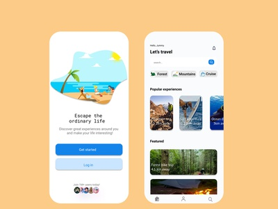 travel app, vacation app