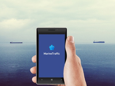 Marine Traffic Windows Phone App marine traffic information architecture mobile ui windows phone