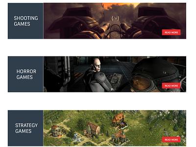 Gamezone web design ui joomla template responsive