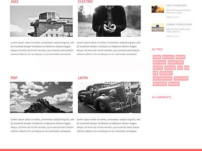 Urban web design ui web joomla