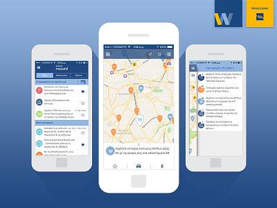 winbank mycard award winning mobile ux mobile app geolocation deals bank