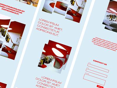 Design Concept | Agrandir website design website web development web design typography landing page figma design branding