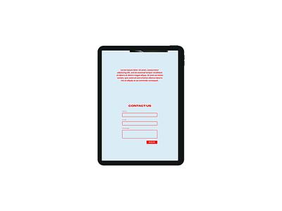 Design Concept | Agrandir ux website design website web development web design typography landing page figma design branding