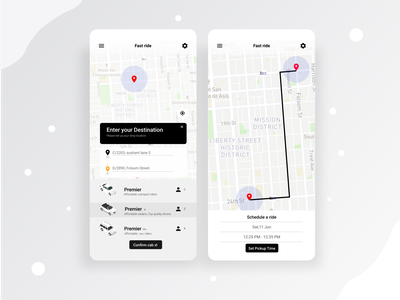Day 20:Location Tracker uber rider uber taxi driver taxi booking app rider cab booking app booking location tracker location app 020 day020 daily 100 challenge dailyui ui