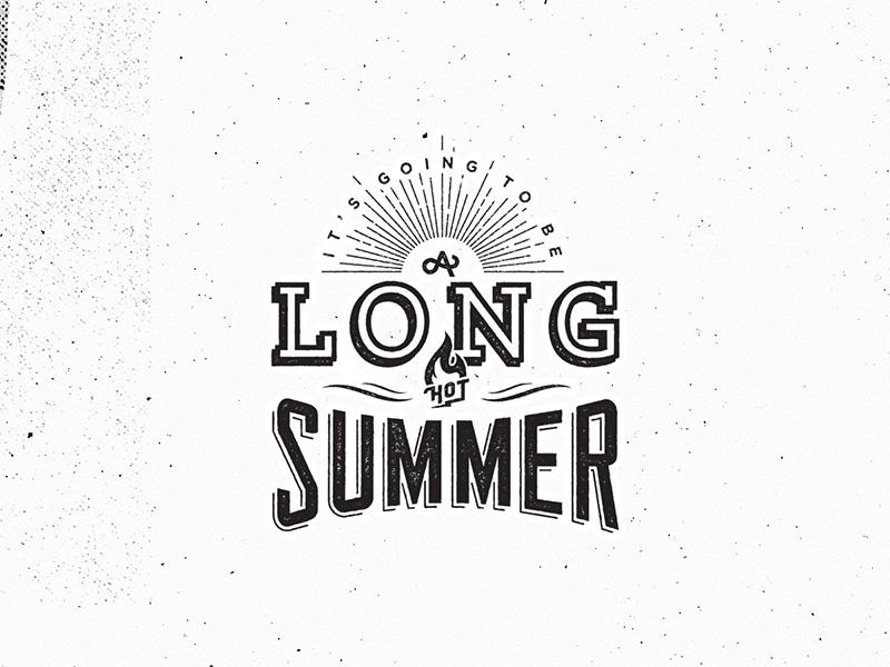 Long Hot Summer by Jason Frost   Dribbble   Dribbble