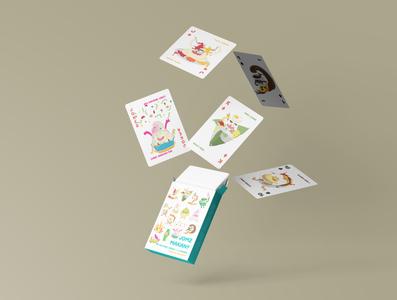 JOMZ MAKAN: Malaysian Playing Cards Deck malaysian food design games playing cards packagingdesign malaysia malaysian