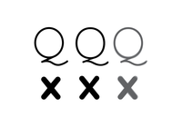Google Fonts Improvement Project: Quicksand /Q, /x