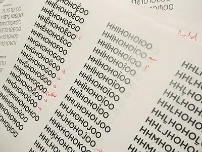 Google Fonts Improvement Project: Quicksand Proof adjustment fonts google
