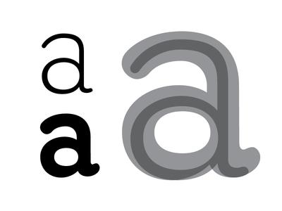 Google Fonts Improvement Project: Quicksand alt /a adjustment fonts google