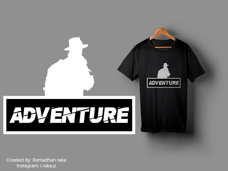 adventure desainkaos kaos travel art mockup design mockup tshirt design tshirtdesign tshirts tshirt typography design illustration
