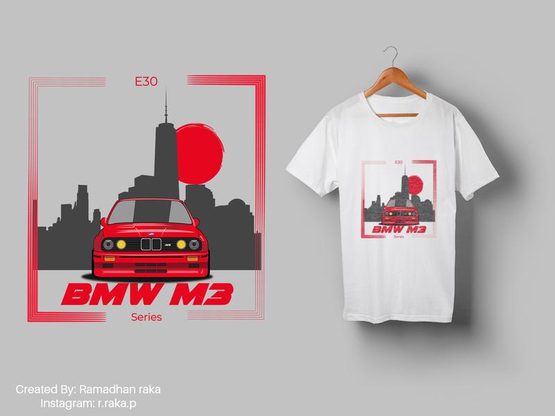 bmw m3 car vector vector art vectorart desainkaos mockup design automotive bmw cars car vector art tshirt design tshirtdesign tshirt kaos mockup illustration