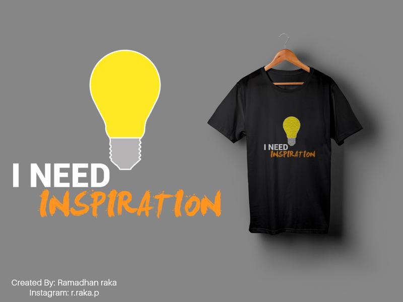 i need inspiration typography tshirt design tshirtdesign tshirt mockup design mockup kaos illustration desainkaos art