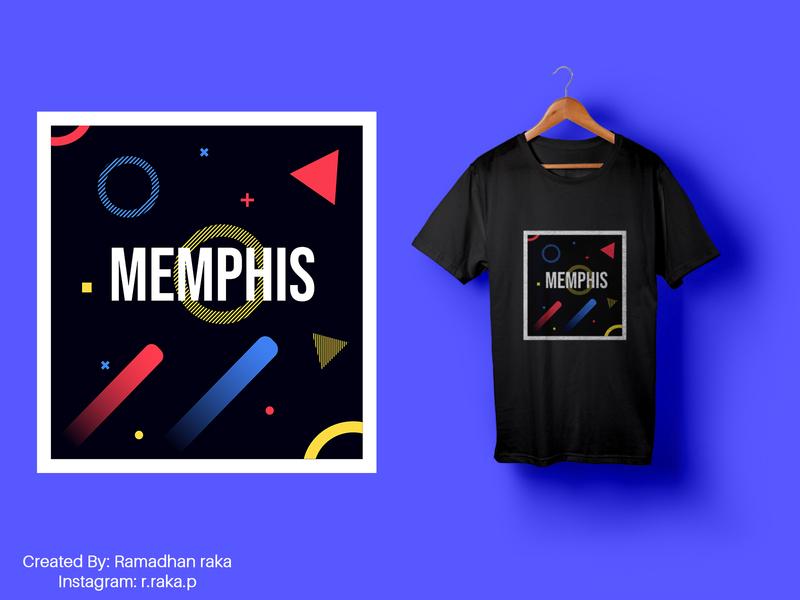 memphis memphis style memphis design memphis modern vector tshirt design tshirtdesign tshirt mockup design mockup kaos illustration desainkaos art
