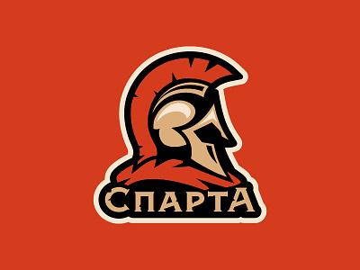 Sparta logos sports helmet hockey sport logo sparta
