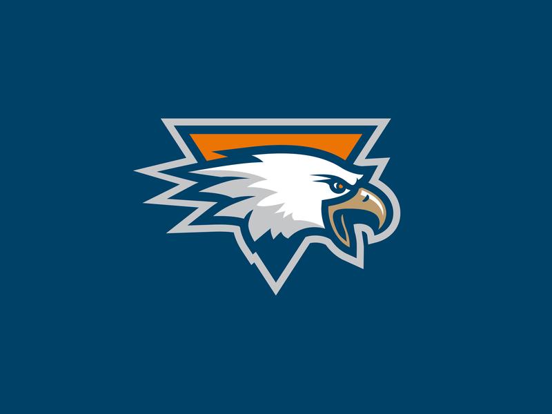 Altair eagle ice hockey logo hockey sport