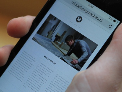 Dribble Debut web website furniture debut