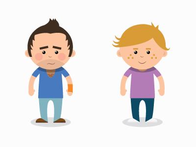 Illustration 2 people illustration illustrator