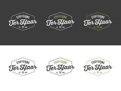 Logo Ter Haar hammer vintage logo