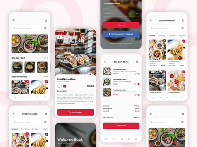 Food Delivery Application Design home delivery application ecommerce uxui mobile app design android app ios app app ui uixu restaurant food delivery app design mobile app food delivery application restaurant home delivery food delivery food app food food and drink