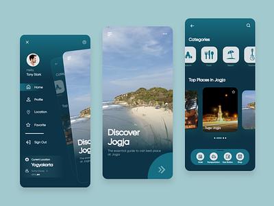 TRIPLIDAY vector ux web uxdesign ui design ui mobile app mobile icon design app